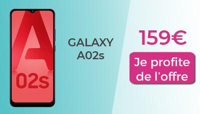 Galaxy A02s 159€