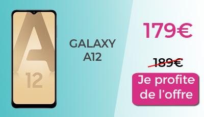 Galaxy A12 179€