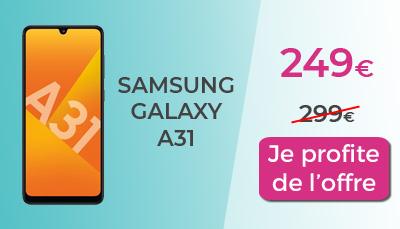 promo galaxy A31