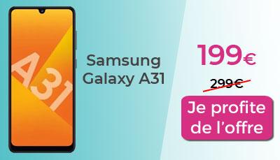 Galaxy A31 Samsung Days Cdiscount