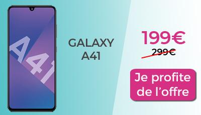 Galaxy A41 Samsung Days