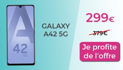 galaxy a42 5g red