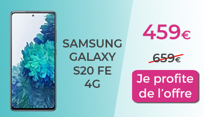 Galaxy S20 FE en promotion à 459€