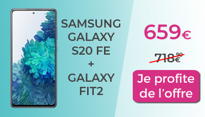 nouveau galaxy S20 FE