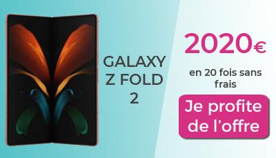 promo galaxy z fold 2
