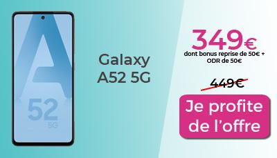 Galaxy A52 5G en promo