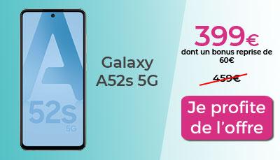 Galaxy A52s Boulanger