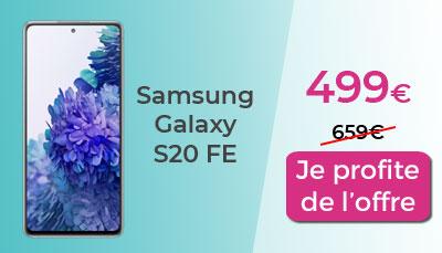 Samsung Days Galaxy S20 FE