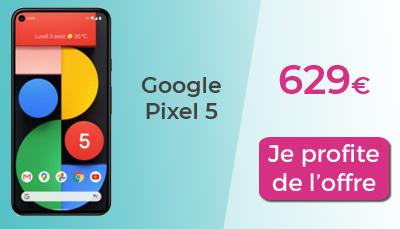 Google Pixel 5 en promo