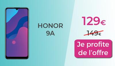 honor 9A en promo pas cher