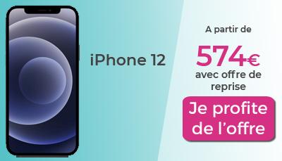 iPhone 12 Boulanger