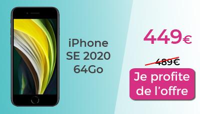 IPhone SE 2020 64Go Boulanger