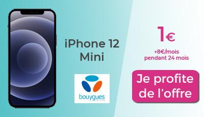 promo iphone 12 à 1€