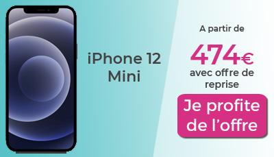 iPhone 12 mini Boulanger