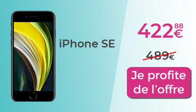 promo french days iphone SE