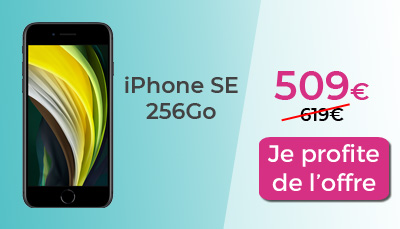 iphone SE RED 256Go