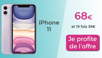 offre iphone 11