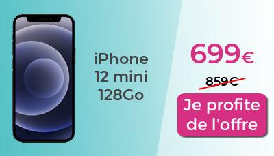 iPhone 12 mini 128 go Amazon