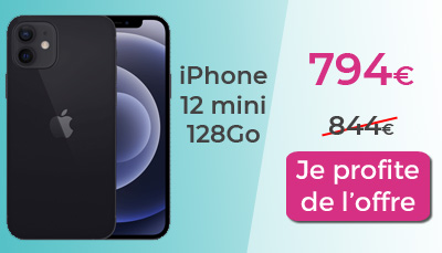 promo iphone 12  mini128Go