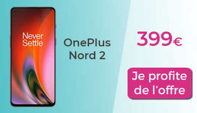 Oneplus nord 2 5G precommande darty