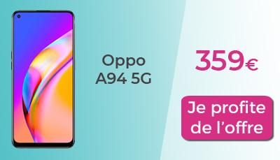 Oppo a94 5G Boulanger