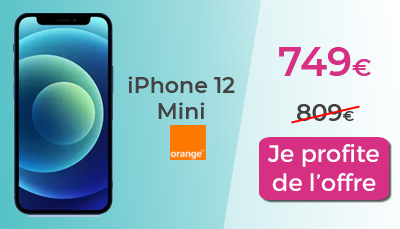 IPhone 12 mini orange