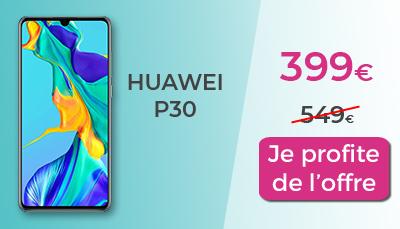 huawei P30 pas cher