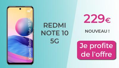 nouveau redmi note 10 5G