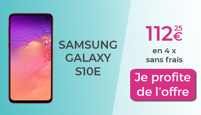 Samsung Galaxy S10e SOSH