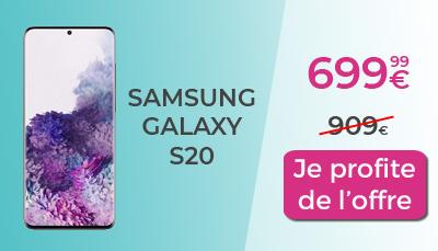 promo galaxy S20