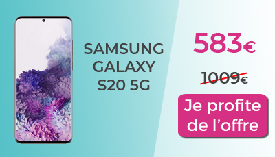 promo galaxy S20 5G