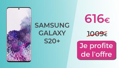 promo galaxy S20+