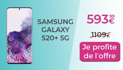 promo galaxy S20+ 5G