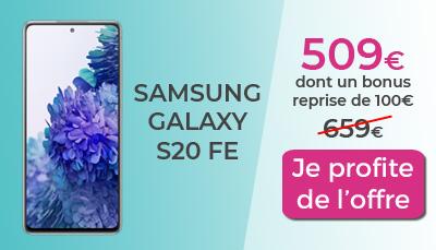 Galaxy S20 FE Boulanger