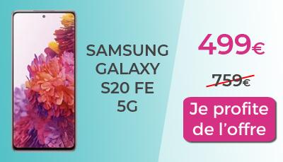 promo galaxy S20 FE 5G