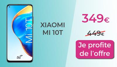 Xiaomi Mi 10 T 5G RED by SFR à 349€