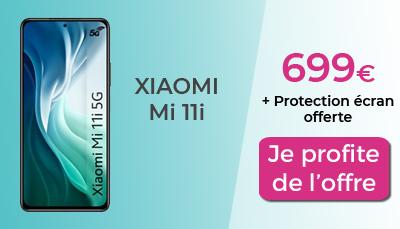 Xiaomi Mi 11i boulanger