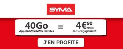 Forfait Syma 40Go