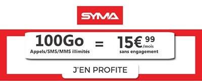 vente privée syma 100Go