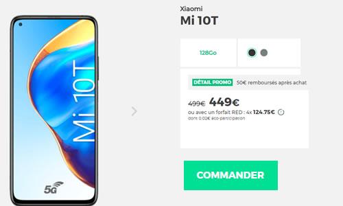 Xiaomi Mi 10T RED by SFR