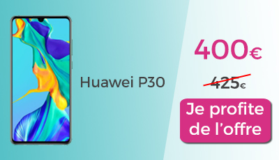 huawei p30 french days