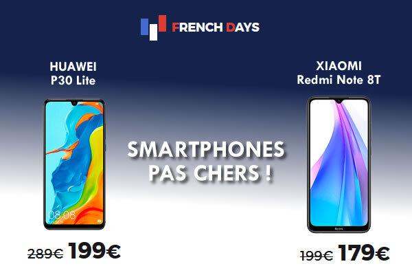 smartphones pas chers RED