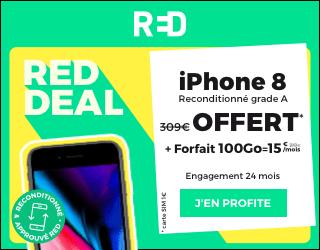 promo red avec iphone