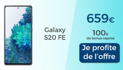 Galaxy S20 FE 5G boulanger