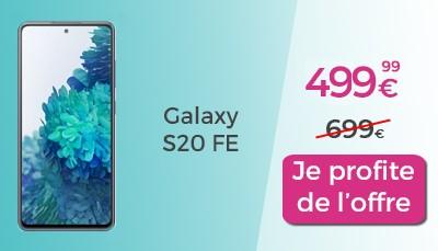 Promo Galaxy S20 FE 5G Rakuten