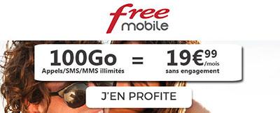 forfait pas cher free