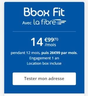 BBOX Fit Fibre 15€