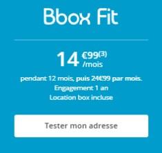 BBOX ADSL à 15€