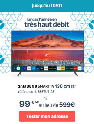 Bbox smart TV 55 pouces 500€ de remise