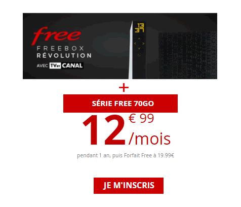 Freebox et forfait mobile free